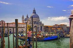 Cena Venetian Fotos de Stock Royalty Free