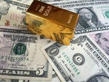 Cena złoto Zdjęcia Stock