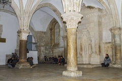 Cenacle (Room of the last supper) . Stock Images