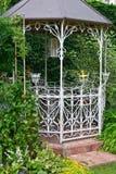 Cenador del jardín Imagen de archivo