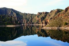 Cenajo dam, Spain Stock Images