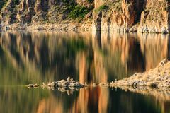 Cenajo dam, Spain Royalty Free Stock Image