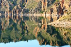 Cenajo dam, Spain Stock Photo