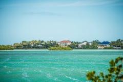 Cenas bonitas da praia e do oceano em chaves de florida Fotos de Stock Royalty Free