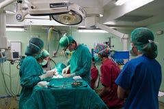 Cenas 7 da cirurgia Fotografia de Stock