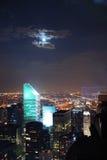 Cenas da noite de New York City Foto de Stock