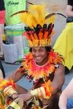 Cenas da samba Foto de Stock Royalty Free