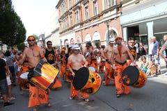 Cenas da samba Imagens de Stock Royalty Free