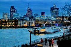 Cenas de Londres Imagens de Stock Royalty Free