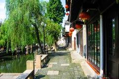 Cenas de Suzhou, aka de chinês Veneza Imagens de Stock