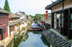 Cenas de Suzhou, aka de chinês Veneza Imagens de Stock Royalty Free
