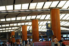 Cenas do aeroporto Imagens de Stock Royalty Free