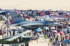 Cenas dos aviões Foto de Stock Royalty Free