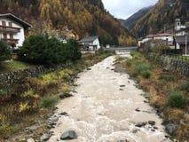Cencenighe, montaña Foto de archivo
