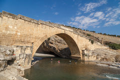Cendere Bridge Royalty Free Stock Image