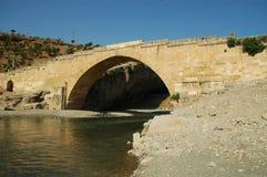 Cendere bridge, Kahta, Turkey Royalty Free Stock Photos