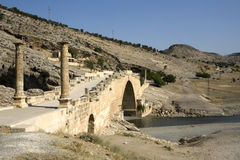 Cendere Bridge or Severan Bridge - Anatolia Royalty Free Stock Photo