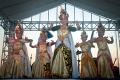 Cendrawasih Dancer. stock photo