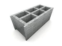 Cendre-bloquez illustration stock