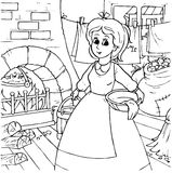 Cendrillon Image stock