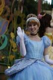 Cendrillon chez Disneyland photographie stock libre de droits