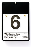 Cenere mercoledì - 2008 Immagine Stock Libera da Diritti