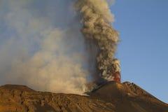 Cenere vulcanica Immagini Stock