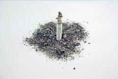 Ceneri di fumo Immagini Stock