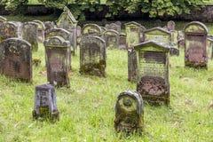 Cenetery judaico velho em Emmendingen Imagens de Stock Royalty Free
