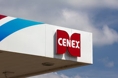 Cenex Gas Station Exterior Stock Photos