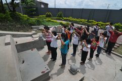 Ceng Beng Ritual in Indonesia Stock Photography