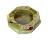 Cenicero de mármol del aislamiento Fotografía de archivo