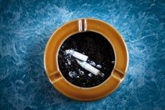 Cenicero del fumador Fotografía de archivo libre de regalías