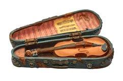 Cenna pamiątka dla domowej kolekci w postaci skrzypce z notatkami, Zdjęcie Royalty Free
