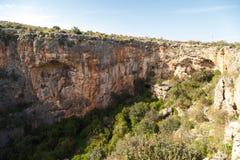 Cennet Cehennem Caves Stock Photos