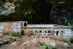 Cennet och cehennemsinkholeskyrka Mersin TURKIET Royaltyfri Fotografi