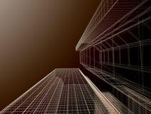 Cenni storici astratti di architettura. illustrazione vettoriale