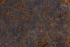 Cenni storici del metallo di lerciume. Corrosione. Fotografia Stock