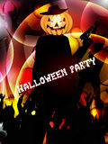 Cenni storici del partito di Halloween Fotografia Stock