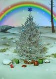 Cenni storici dell'albero di Natale Fotografia Stock Libera da Diritti
