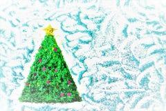 Cenni storici dell'albero di Natale Immagini Stock Libere da Diritti