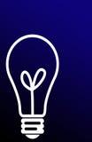 Cenni storici della lampadina illustrazione vettoriale
