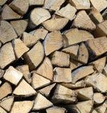 Cenni storici della legna da ardere Fotografia Stock
