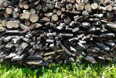 Cenni storici della legna da ardere Immagini Stock Libere da Diritti