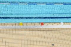 Cenni storici della piscina Fotografie Stock