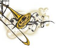 Cenni storici dello strumento di musica Immagine Stock
