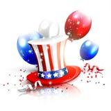 Cenni storici di festa dell'indipendenza Immagine Stock