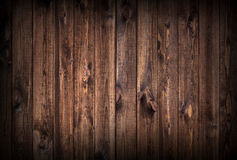 Cenni storici di legno scuri delle plance immagini stock