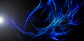 Cenni storici eleganti blu astratti Fotografie Stock Libere da Diritti