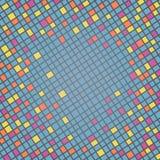 Cenni storici multicolori del mosaico Immagini Stock